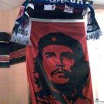 Photo von einem Poster von Che Guevara.