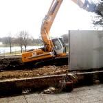 Bauarbeiten im Strandbad FT März 2013 -1-