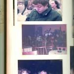 """3 Bilder aus meinem privaten Album mit Aufnahmen um Konzerte in der Darmstädter """"Goldenen Krone"""" von 1984."""